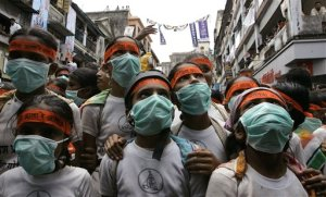 APTOPIX India Swine Flu